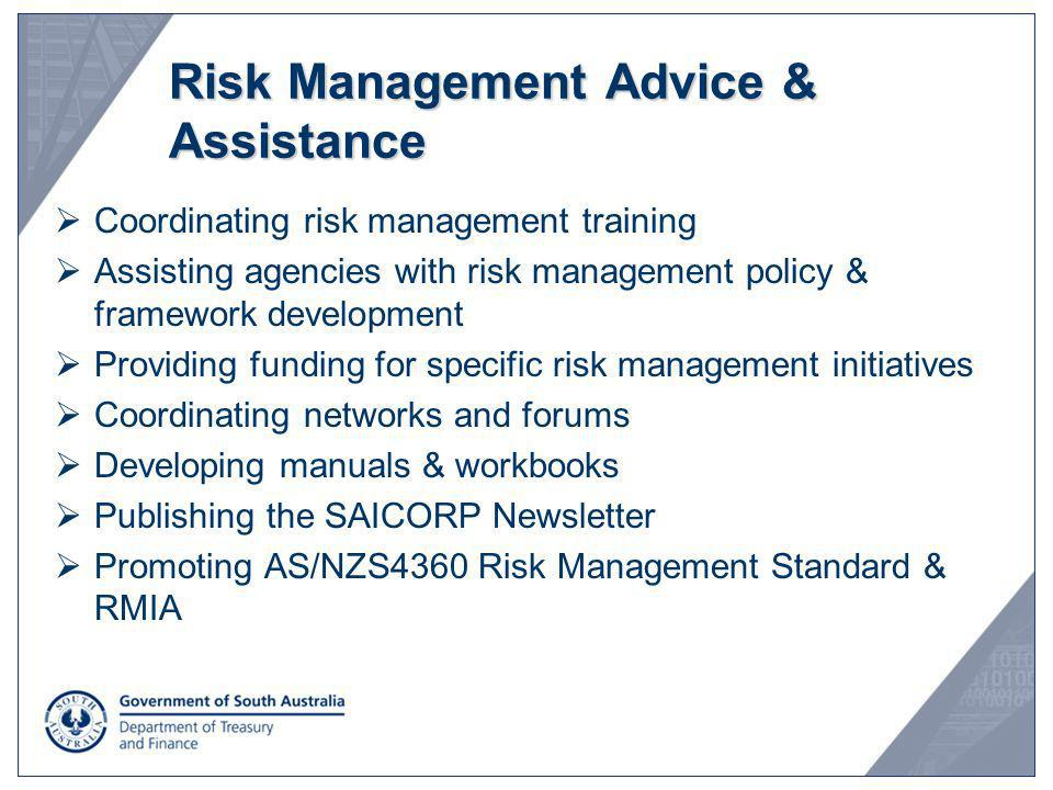 Risk Management Advice & Assistance