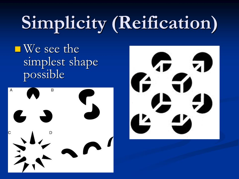 Simplicity (Reification)