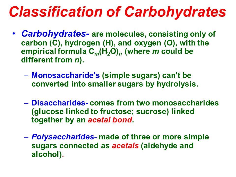 D Erythrose Sugars and Polysacchar...