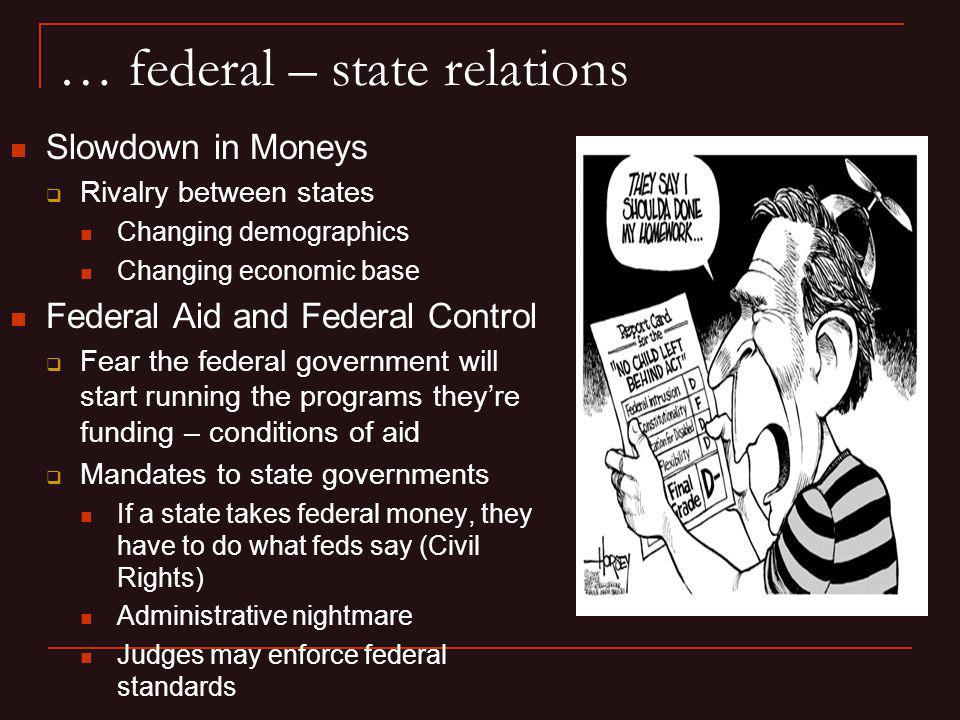 … federal – state relations