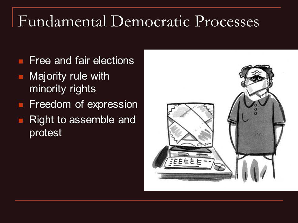 Fundamental Democratic Processes