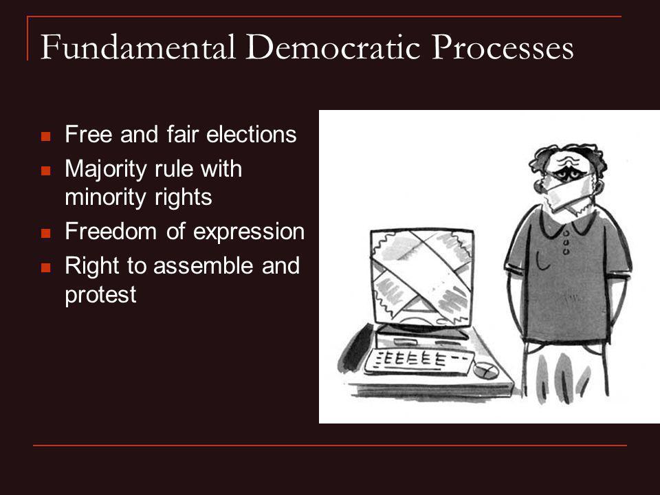 Fundamental Democratic Processes