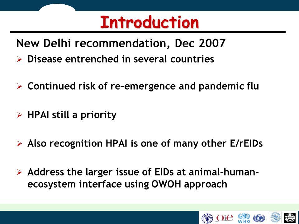 Introduction New Delhi recommendation, Dec 2007