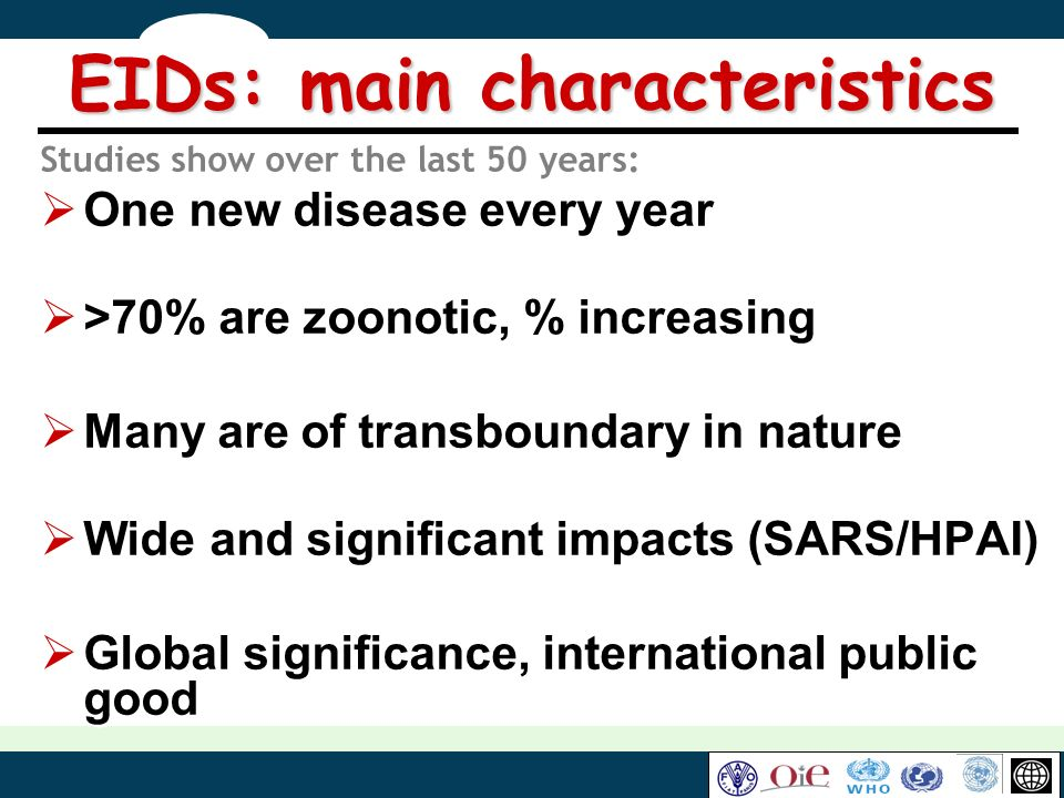 EIDs: main characteristics