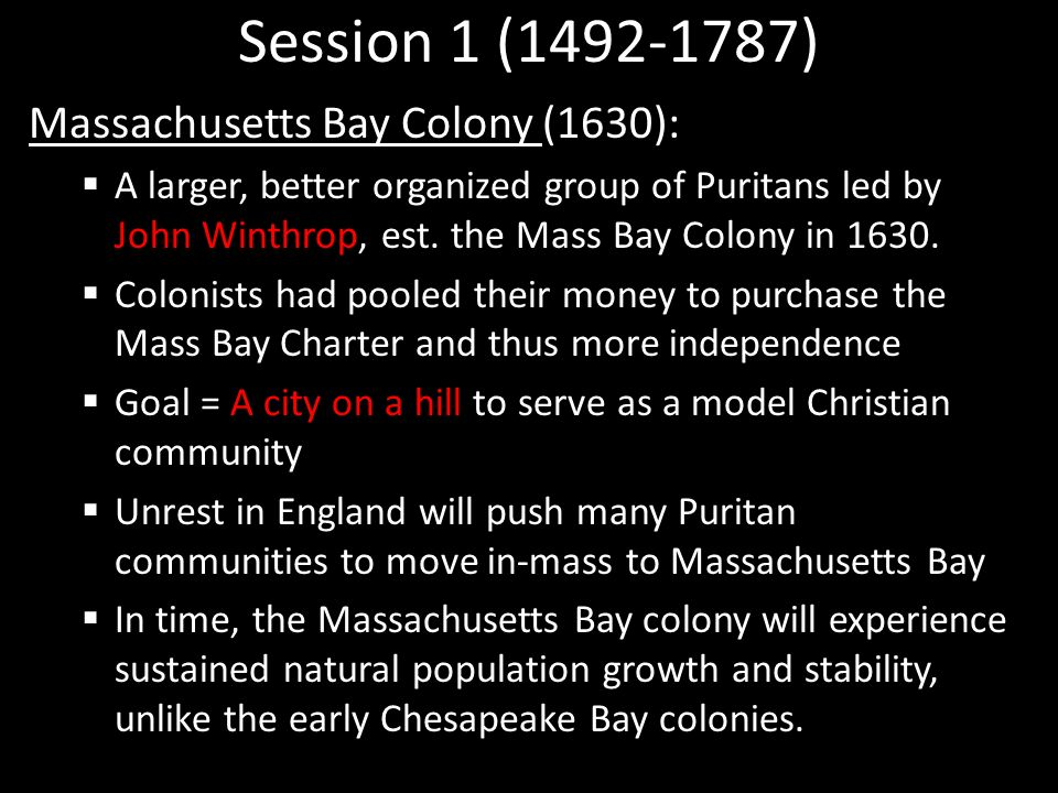 chesapeake bay vs massachusetts bay colonies Chapter 2 in the ap achiever book of this topic provides a chart to compare the chesapeake and new england colonies from 1607 to 1670 learn with flashcards, games, and more — for free.