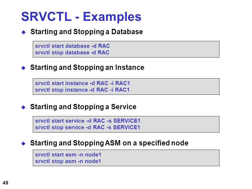 start database