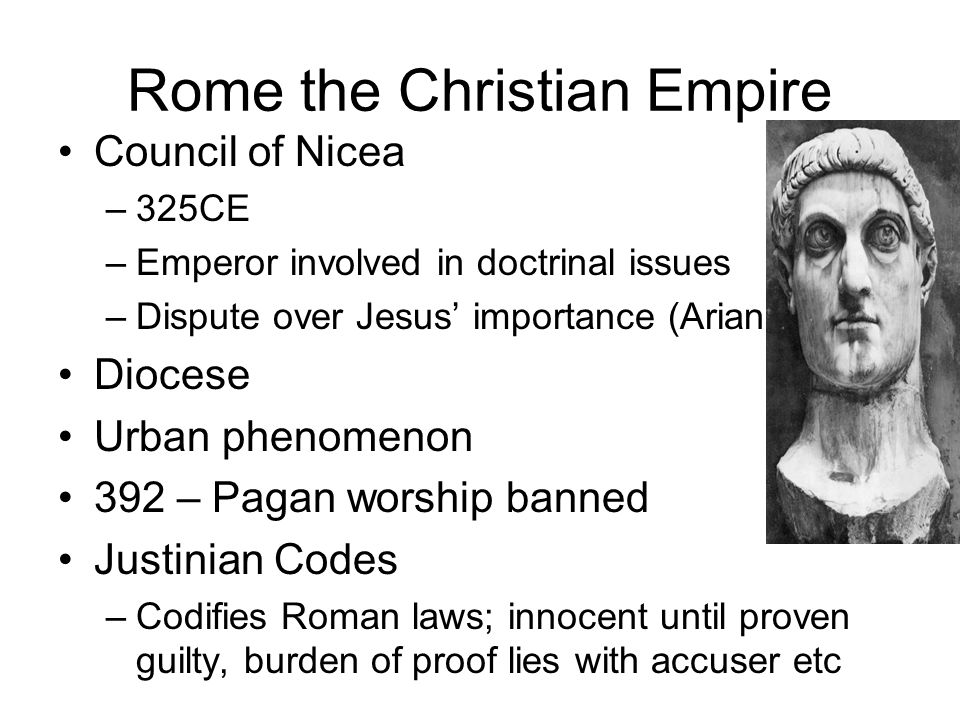 Rome the Christian Empire