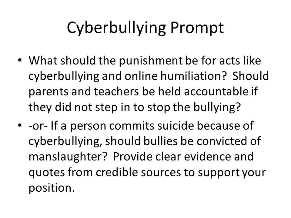 persuasive writing unit ppt 11 cyberbullying