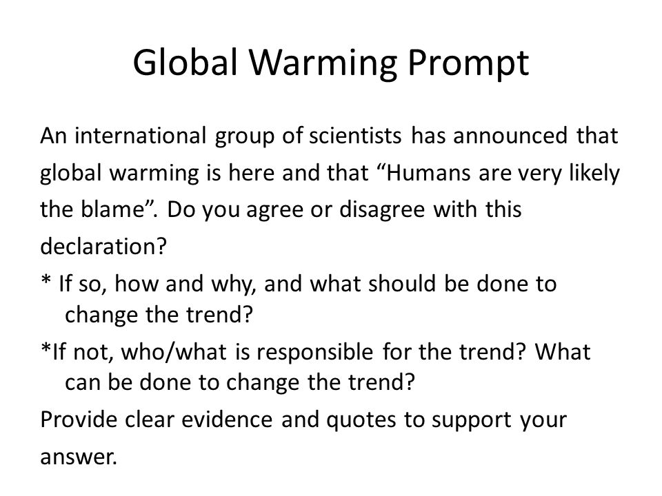 are humans to blame for global warming essay Humans are to blame for global warming kevin odhiambo ogwa lake michigan college abstract every human activity has a particular effect on objects surrounding his or.