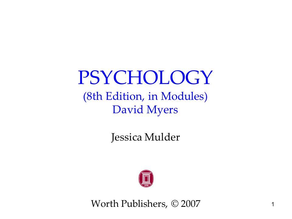 Psychology david myers 8th edition chapter 11 intelligence | tpt.