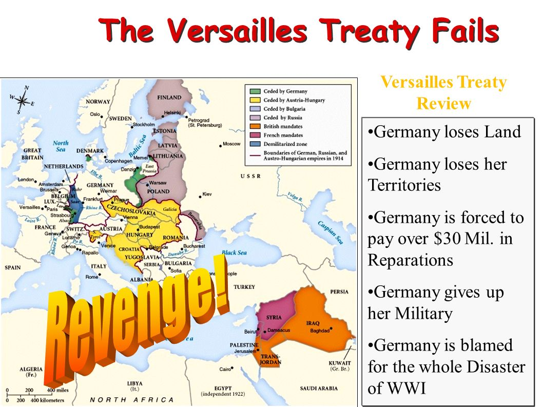 The Versailles Treaty Fails Versailles Treaty Review