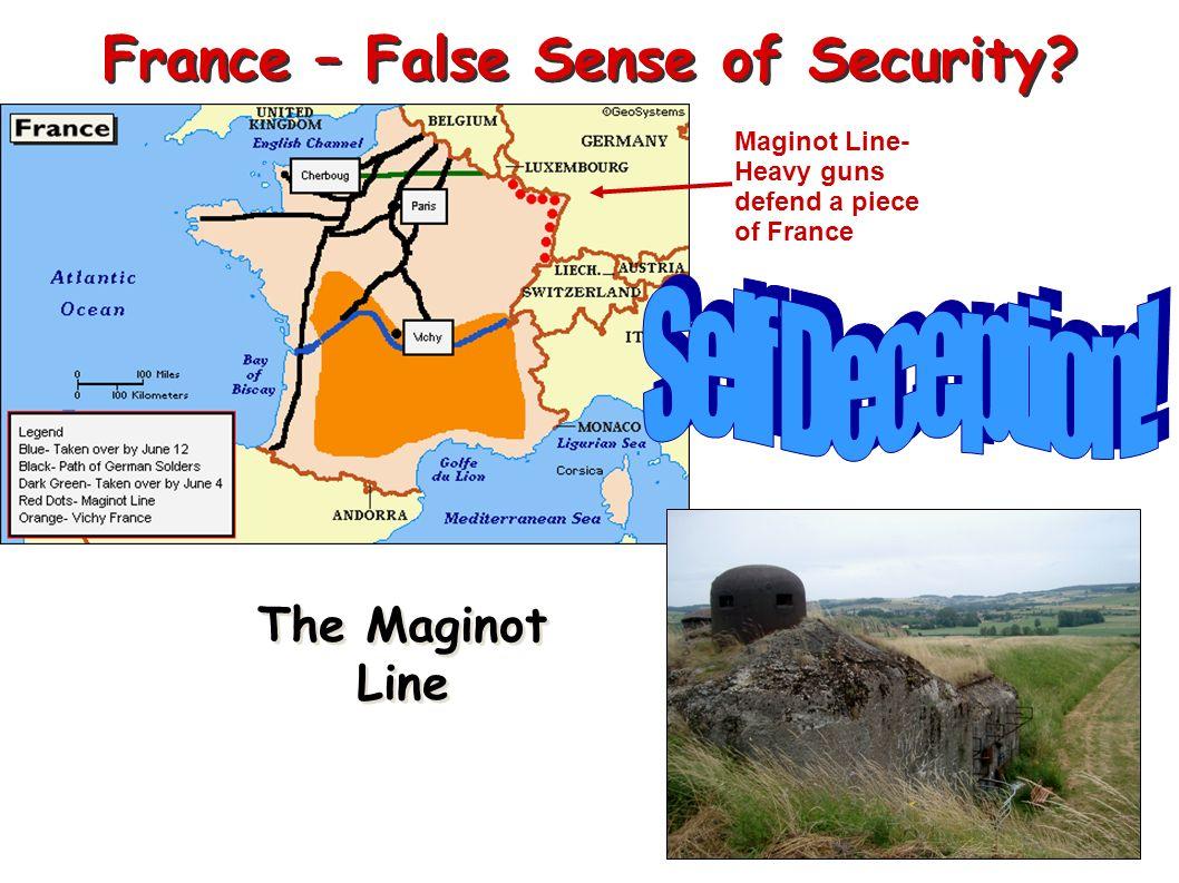 France – False Sense of Security
