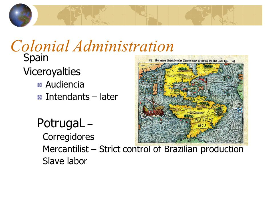 Colonial Administration