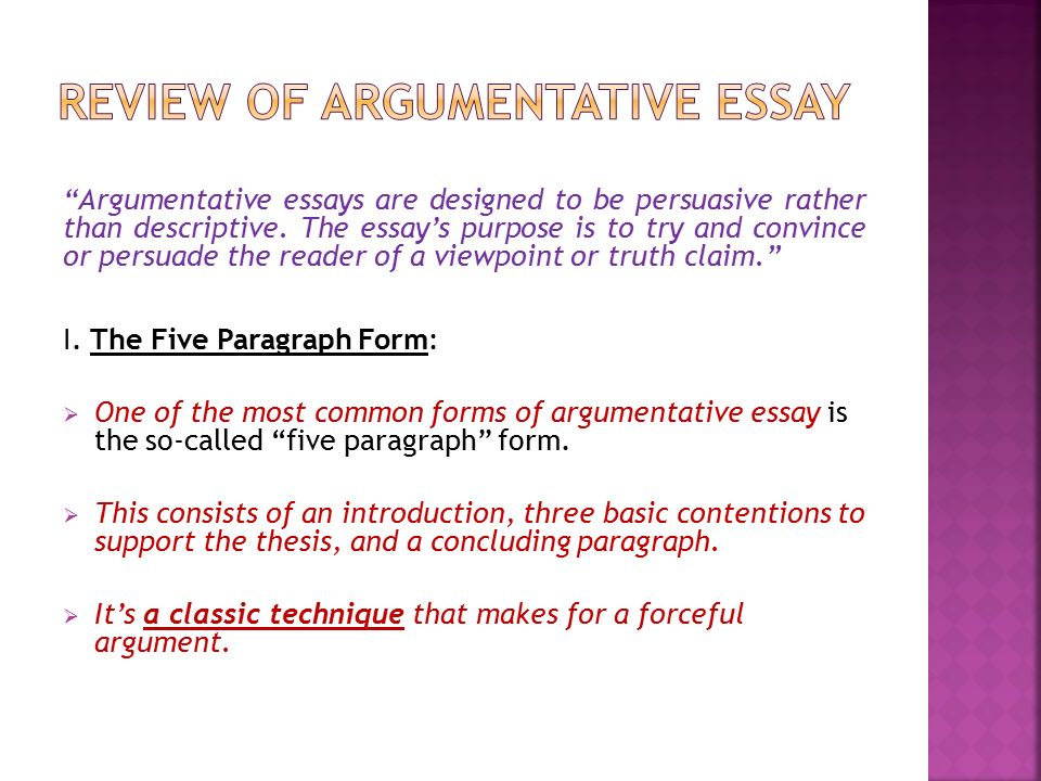 essays on conflicting perspectives