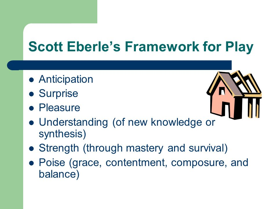 Scott Eberle's Framework for Play