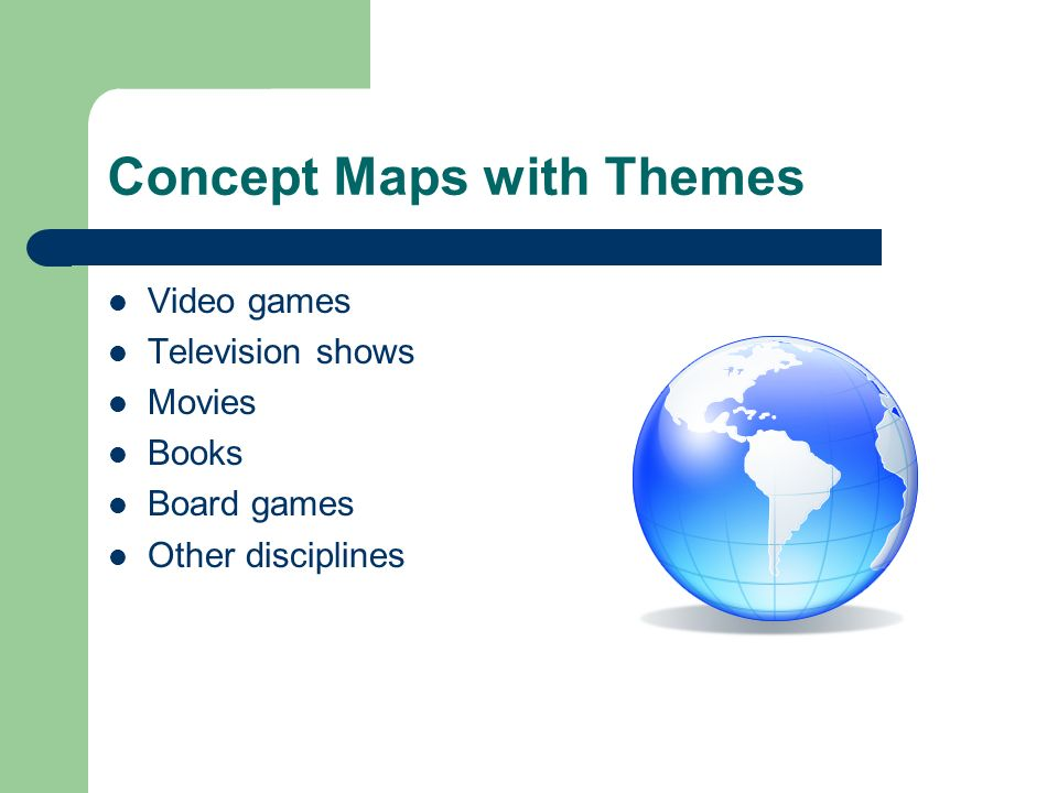 Concept Maps with Themes