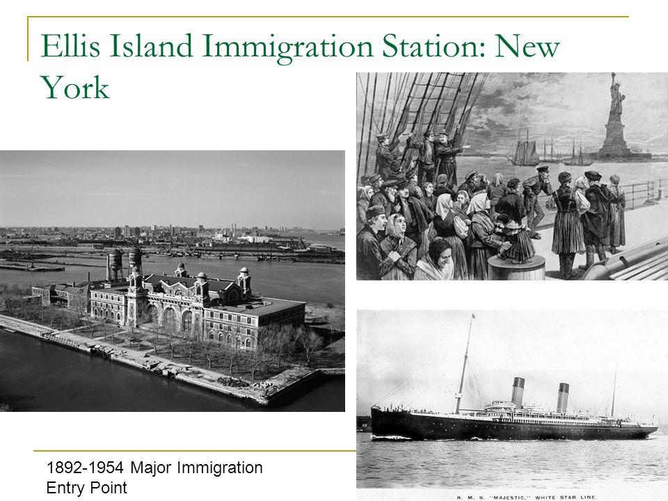 Ellis Island Immigration Station: New York