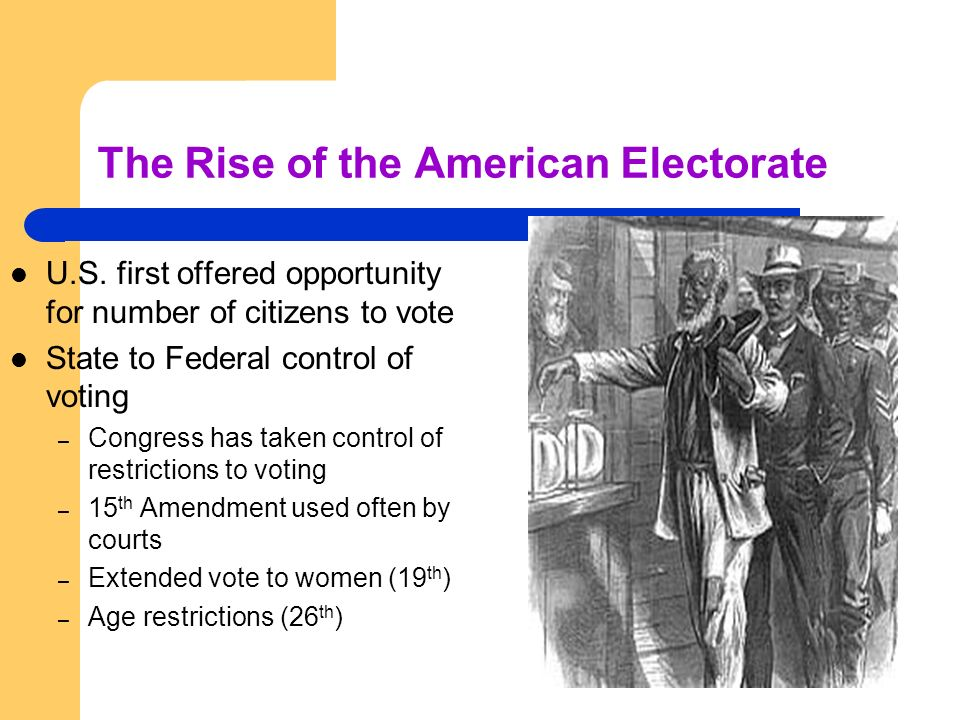 The Rise of the American Electorate