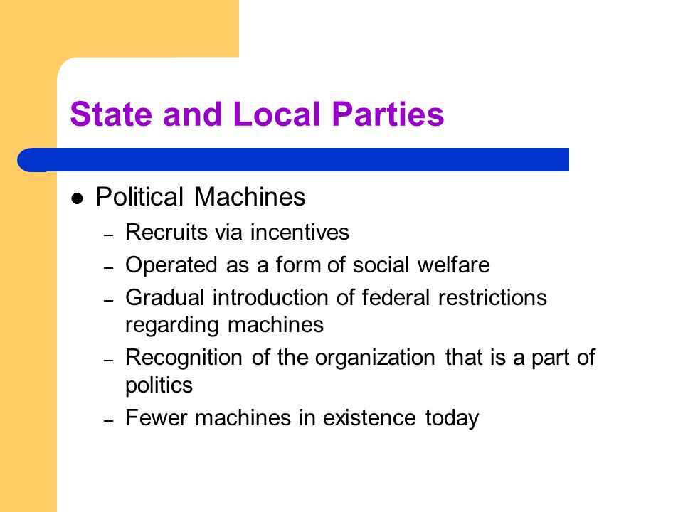State and Local Parties
