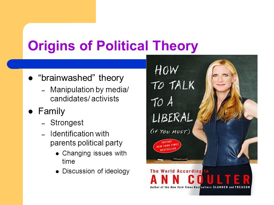 Origins of Political Theory