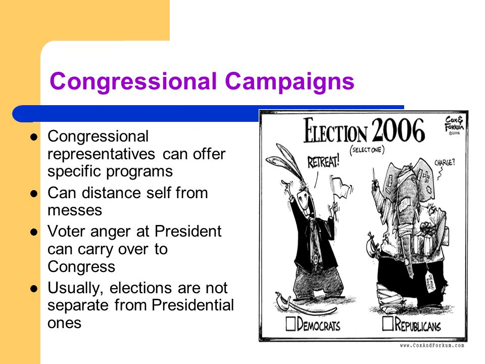 Congressional Campaigns