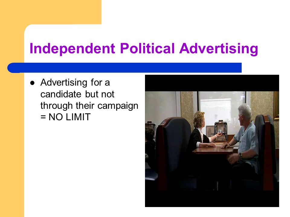 Independent Political Advertising