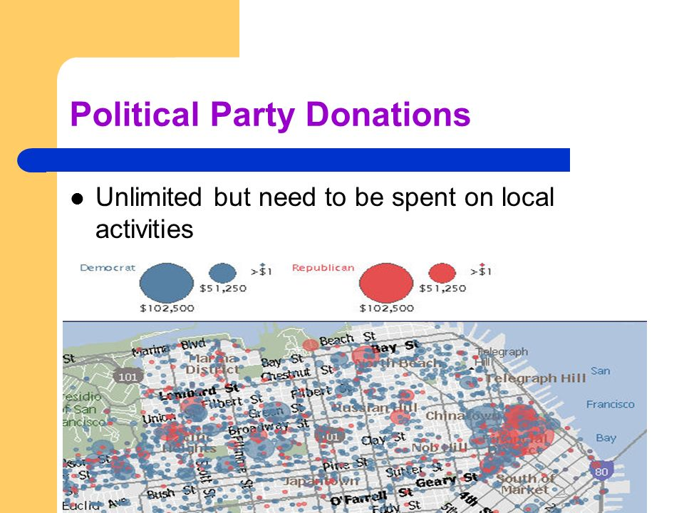 Political Party Donations