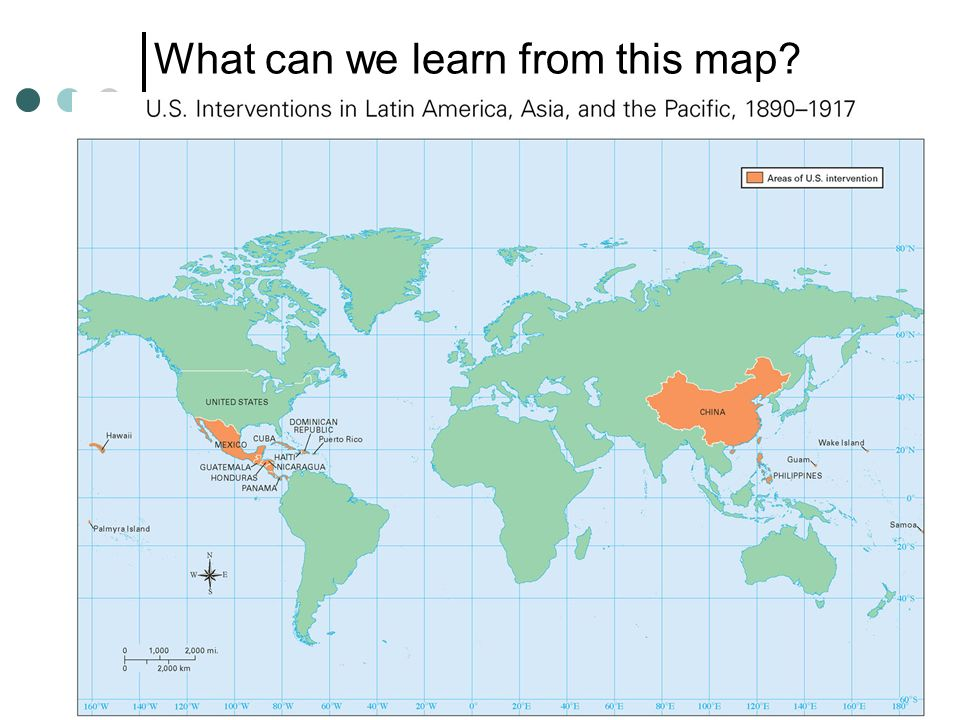 What can we learn from this map