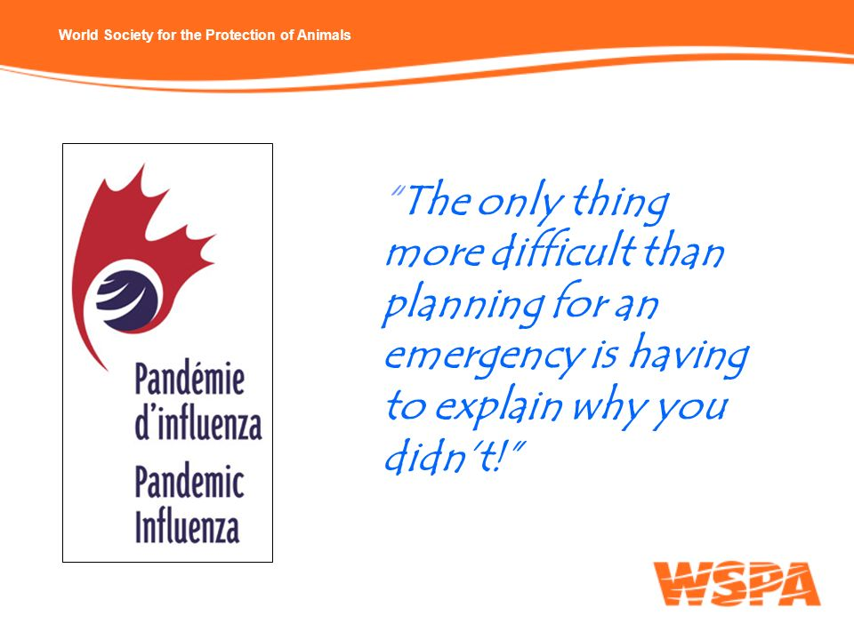 The only thing more difficult than planning for an emergency is having to explain why you didn't!