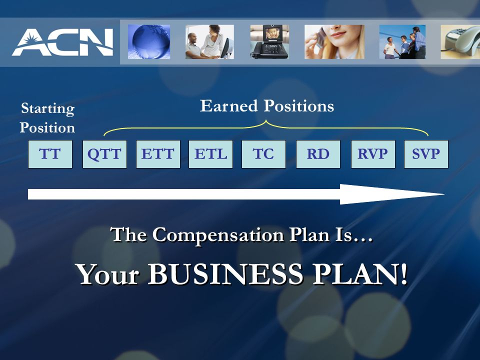 The Compensation Plan Is…