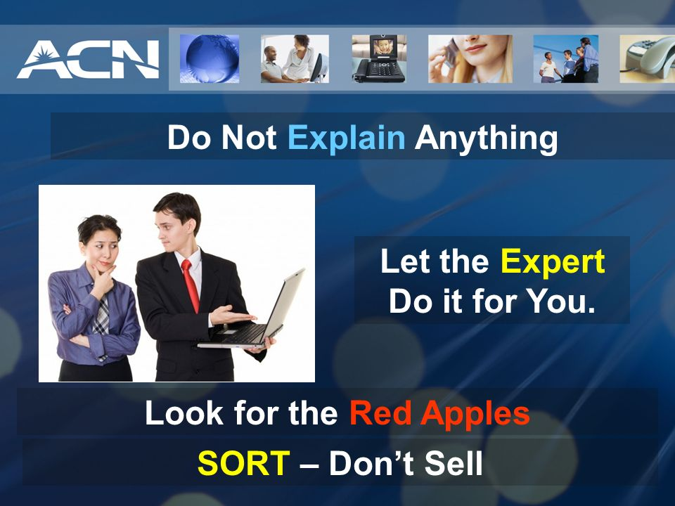 Do Not Explain Anything Let the Expert Do it for You.