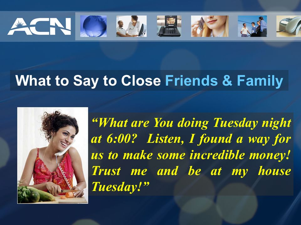 What to Say to Close Friends & Family