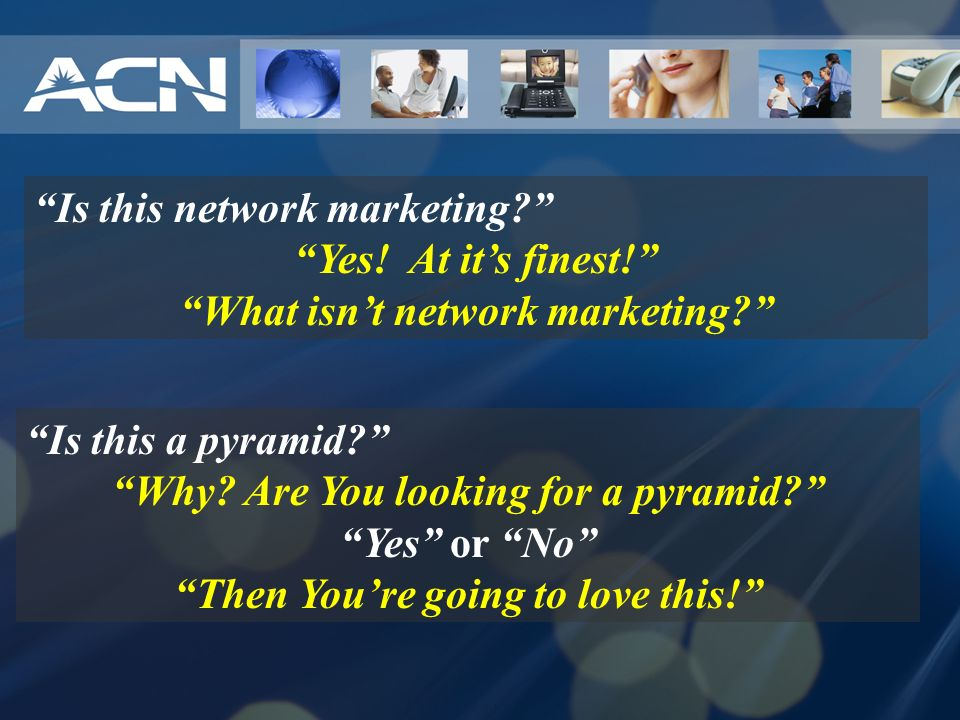 Is this network marketing Yes! At it's finest!