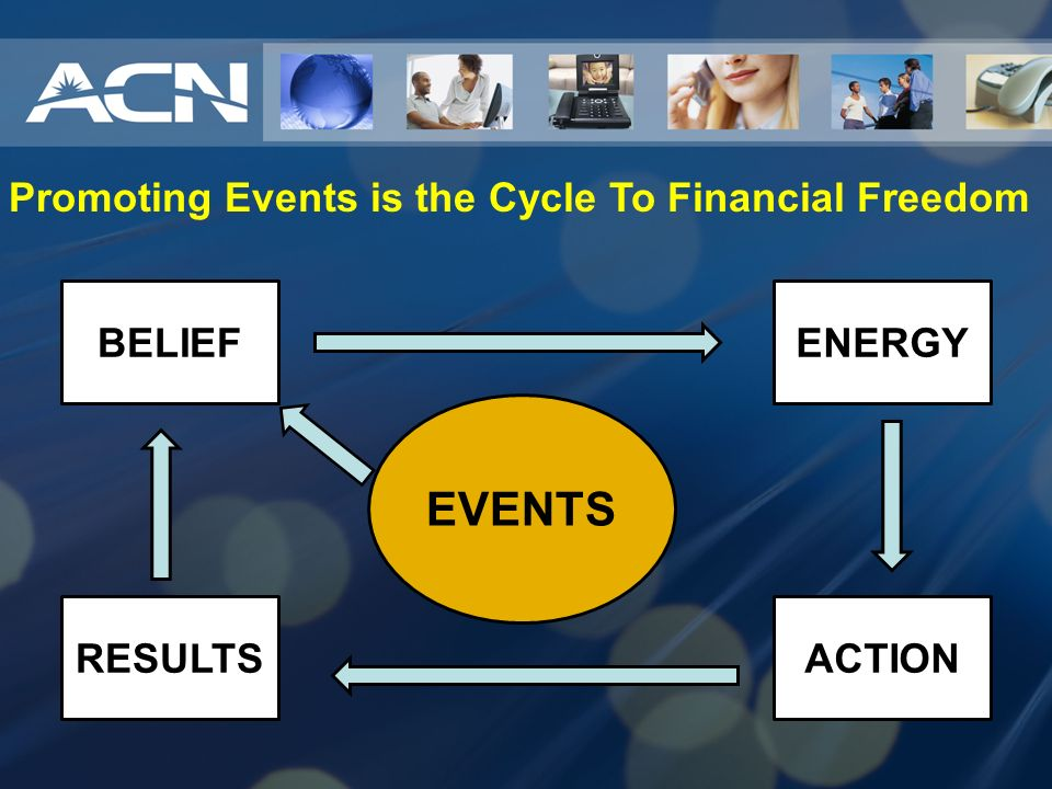 Promoting Events is the Cycle To Financial Freedom