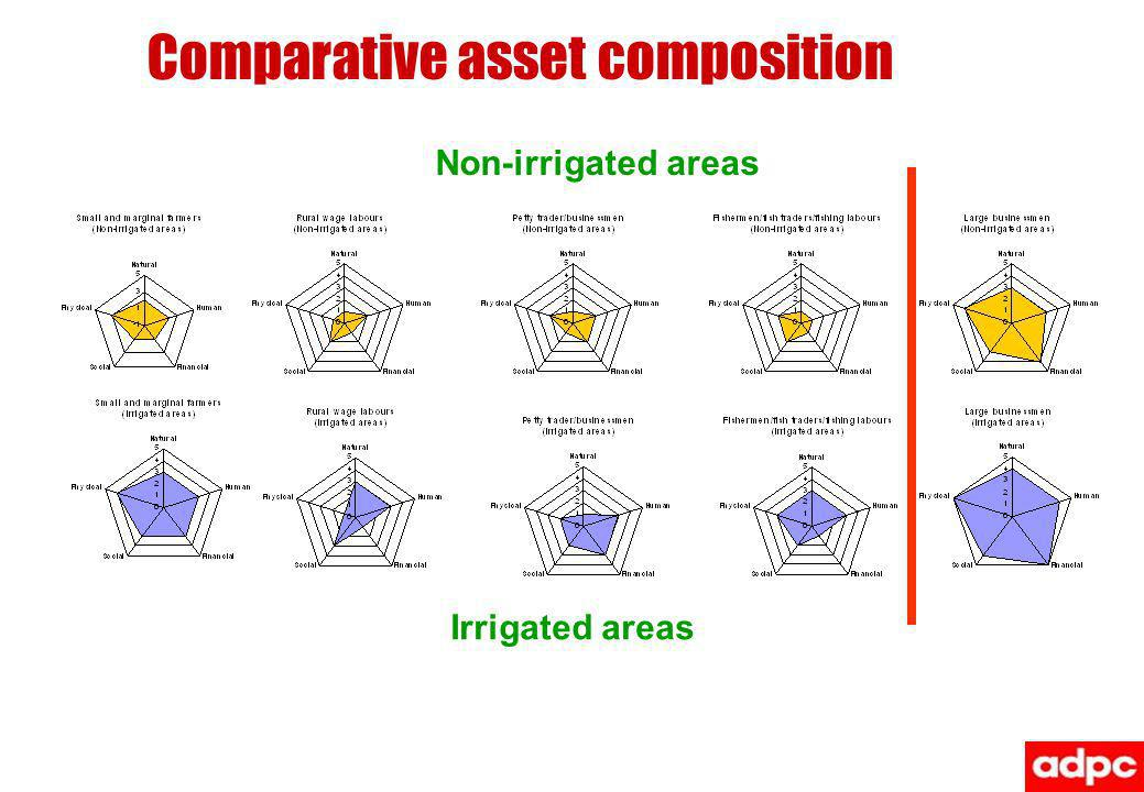 Comparative asset composition