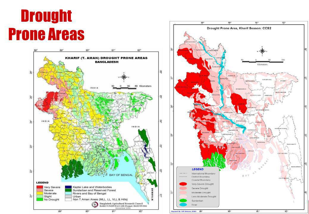 Drought Prone Areas