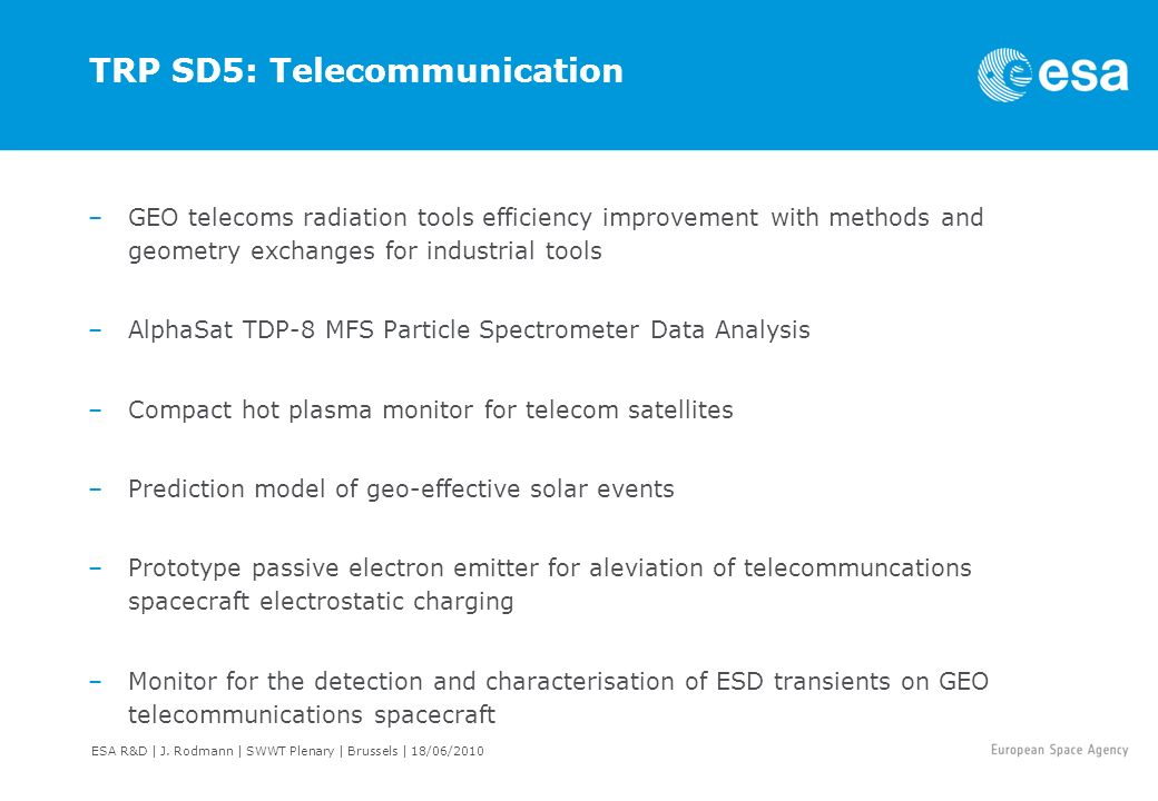 TRP SD5: Telecommunication