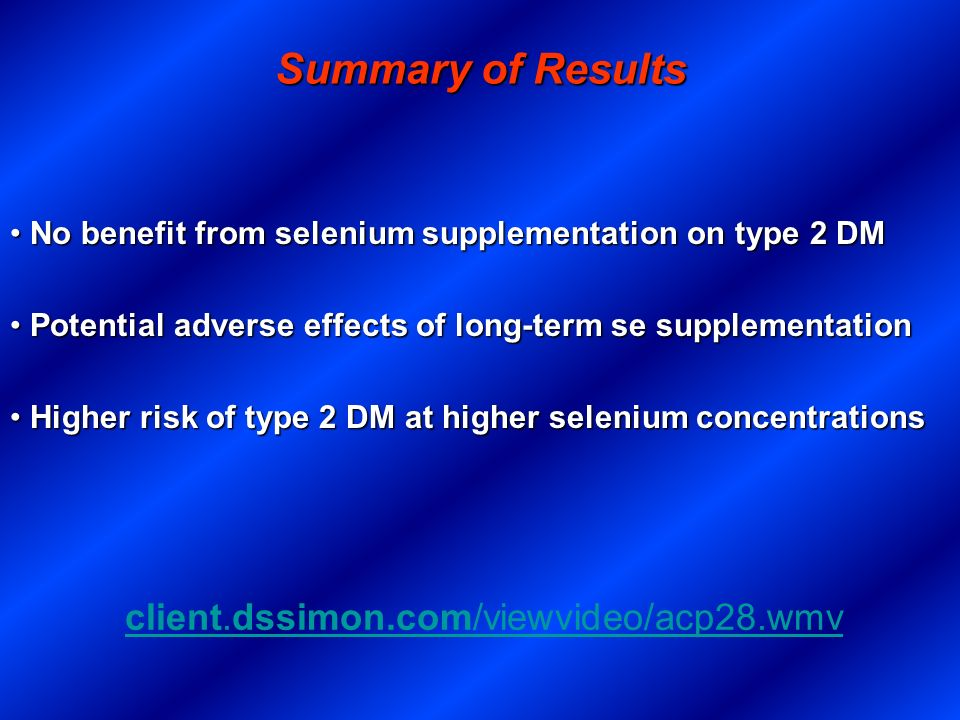 Summary of Results client.dssimon.com/viewvideo/acp28.wmv
