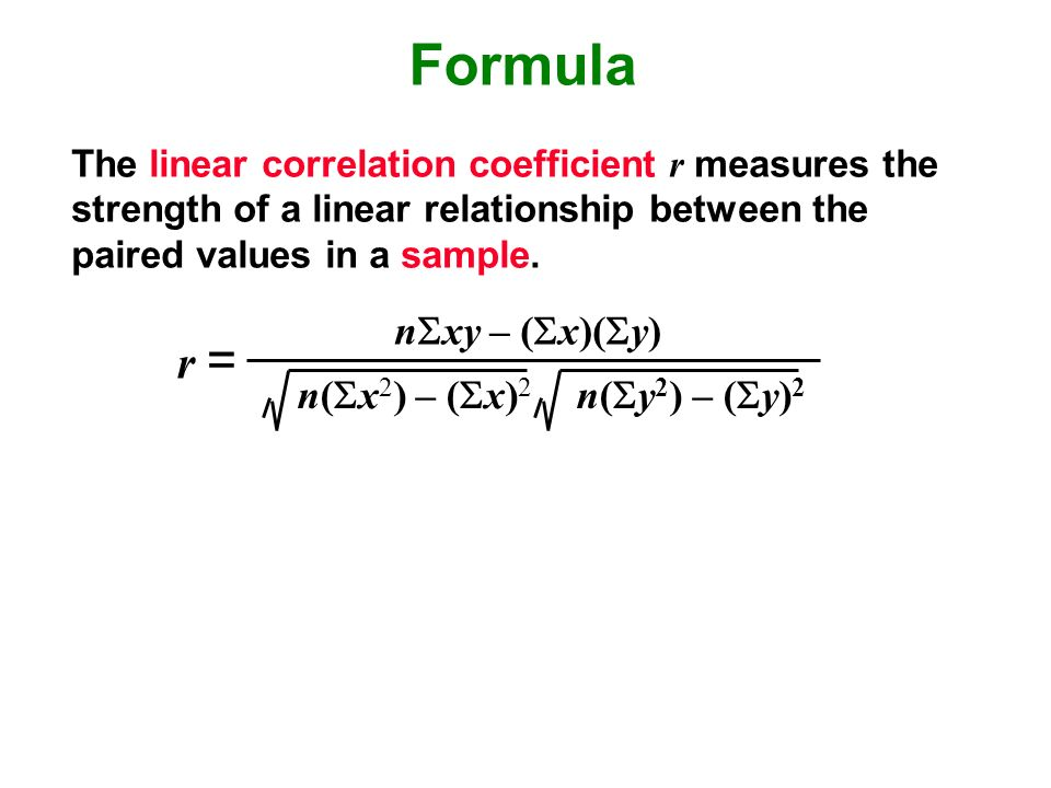 correlation coefficient formula essay The correlation coefficient in excel allows you to simply calculate the correlation between two sets of data to determine whether they are correlated in any way a good example of this is the correlation coefficient formula available in excel.
