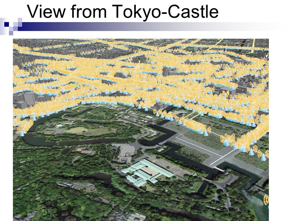 View from Tokyo-Castle