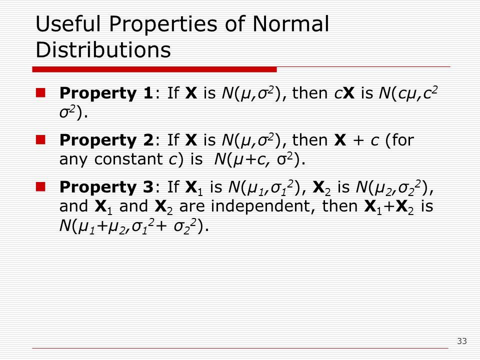 properties of normal distribution pdf