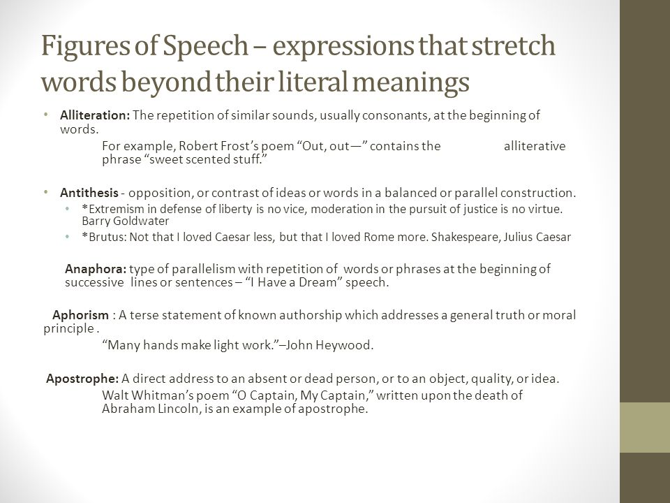 Examples Of Alliteration Sentences Figures Of Speech Image