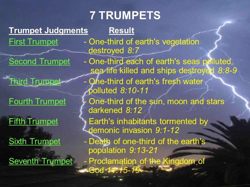 7 TRUMPETS Trumpet Judgments Result