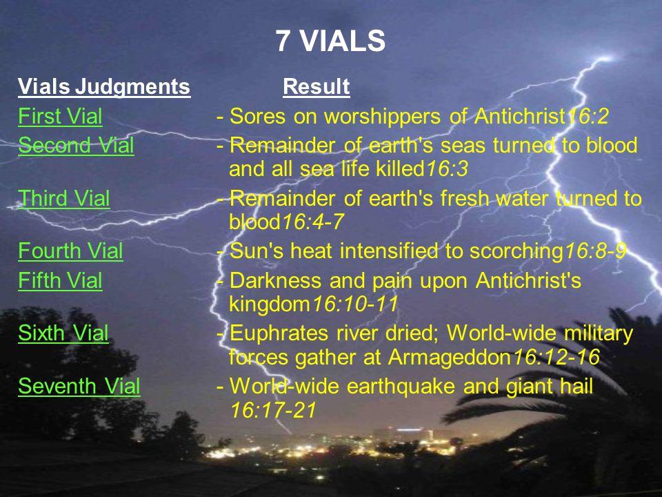 7 VIALS Vials Judgments Result