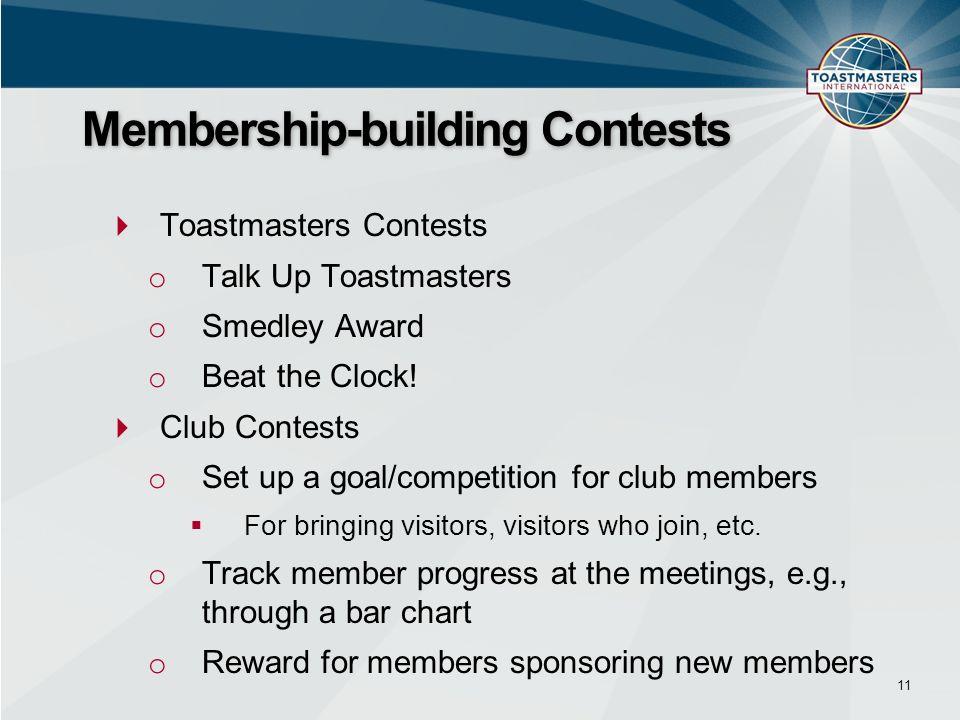 Membership-building Contests