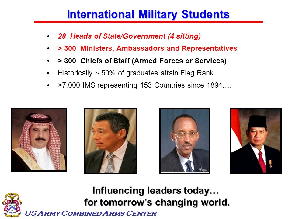 International Military Students