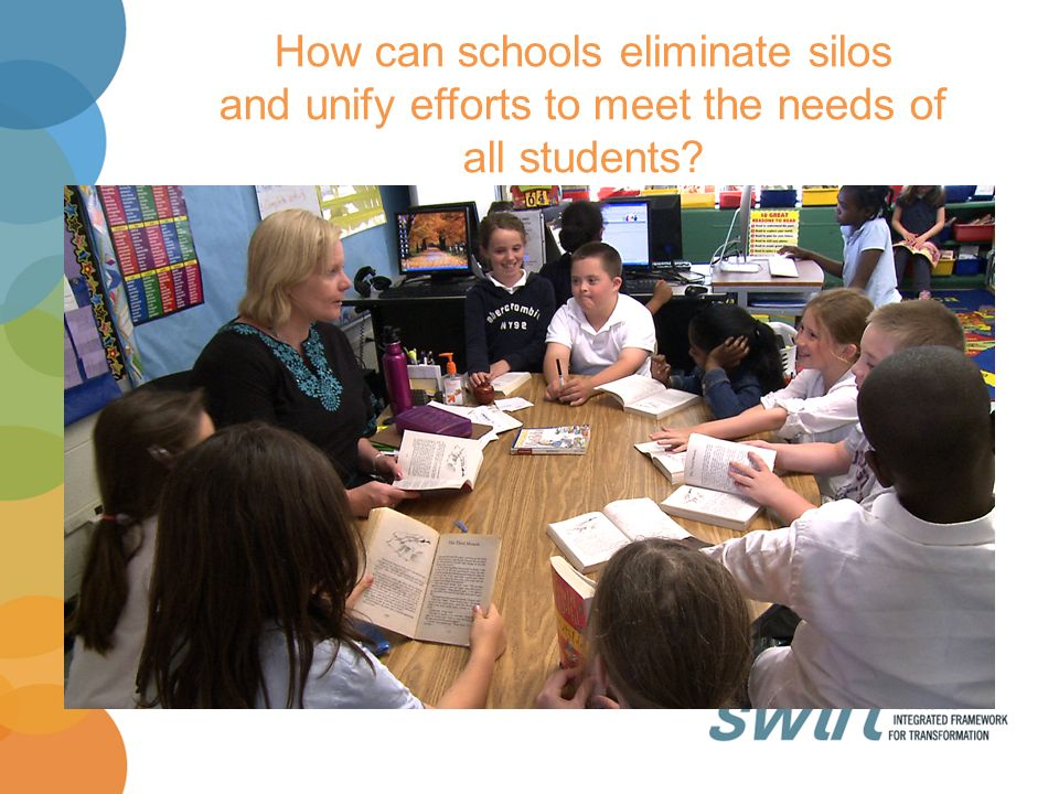 How can schools eliminate silos and unify efforts to meet the needs of all students