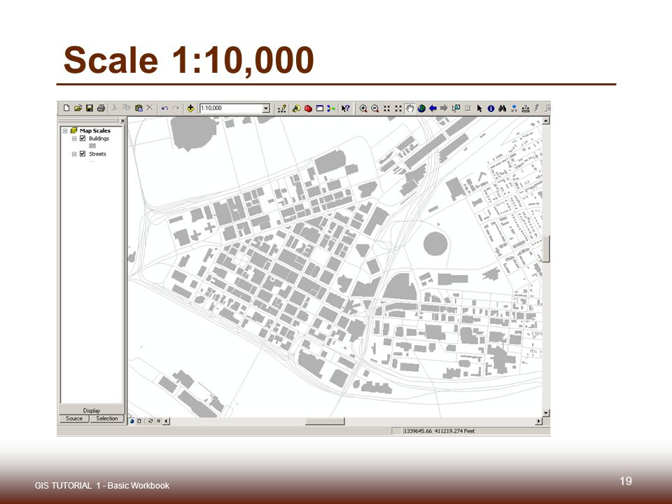 Gis tutorial 1 lecture 3 gis outputs ppt video online download 19 scale 110000 gis tutorial 1 basic workbook sciox Gallery