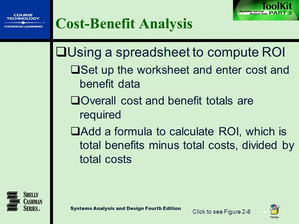 The Systems Analysis Toolkit ppt video online download – Cost Analysis Worksheet