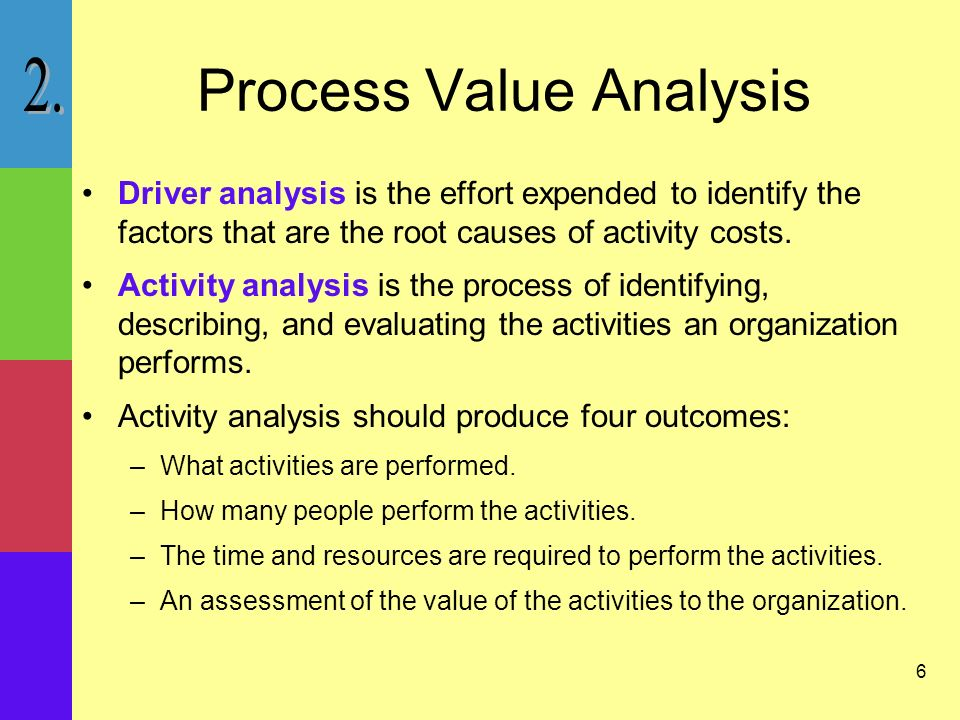 an analysis of the management as a set of activities Value chain analysis is an extremely useful management tool which identifies the activities that go into creating a superior product or service that is highly valued by customers.